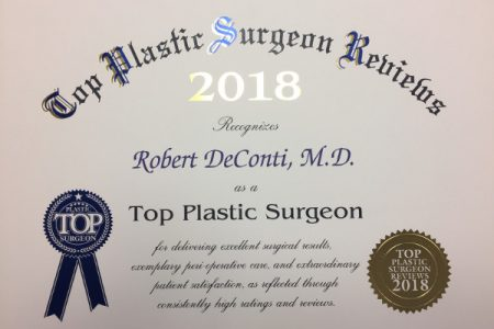 Best Plastic Surgeon Award
