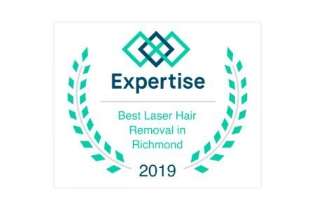 Voted Best Laser Hair Removal in Richmond, VA by Expertise.com